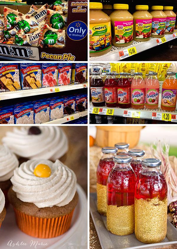 M&M's® Pecan Pie, Mott's® Apple Sauce, Pillsbury™ Moist Supreme® Cake Mix and Snapple® Apple Single