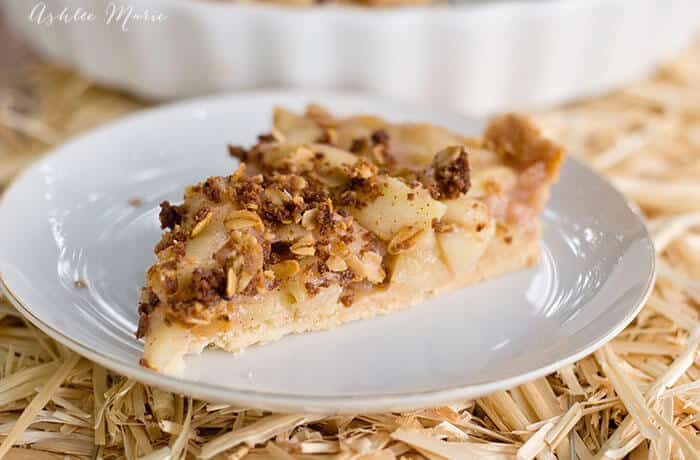 apple crumble tart recipe