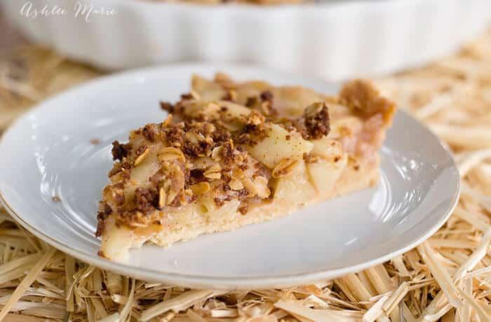 apple crumble tart recipe