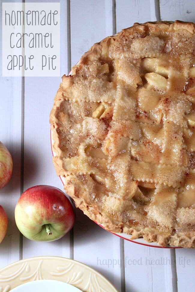 Caramel Apple Pie
