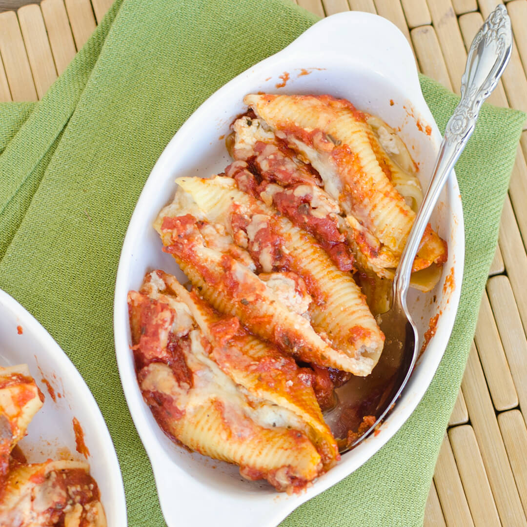 Manicotti shells recipe