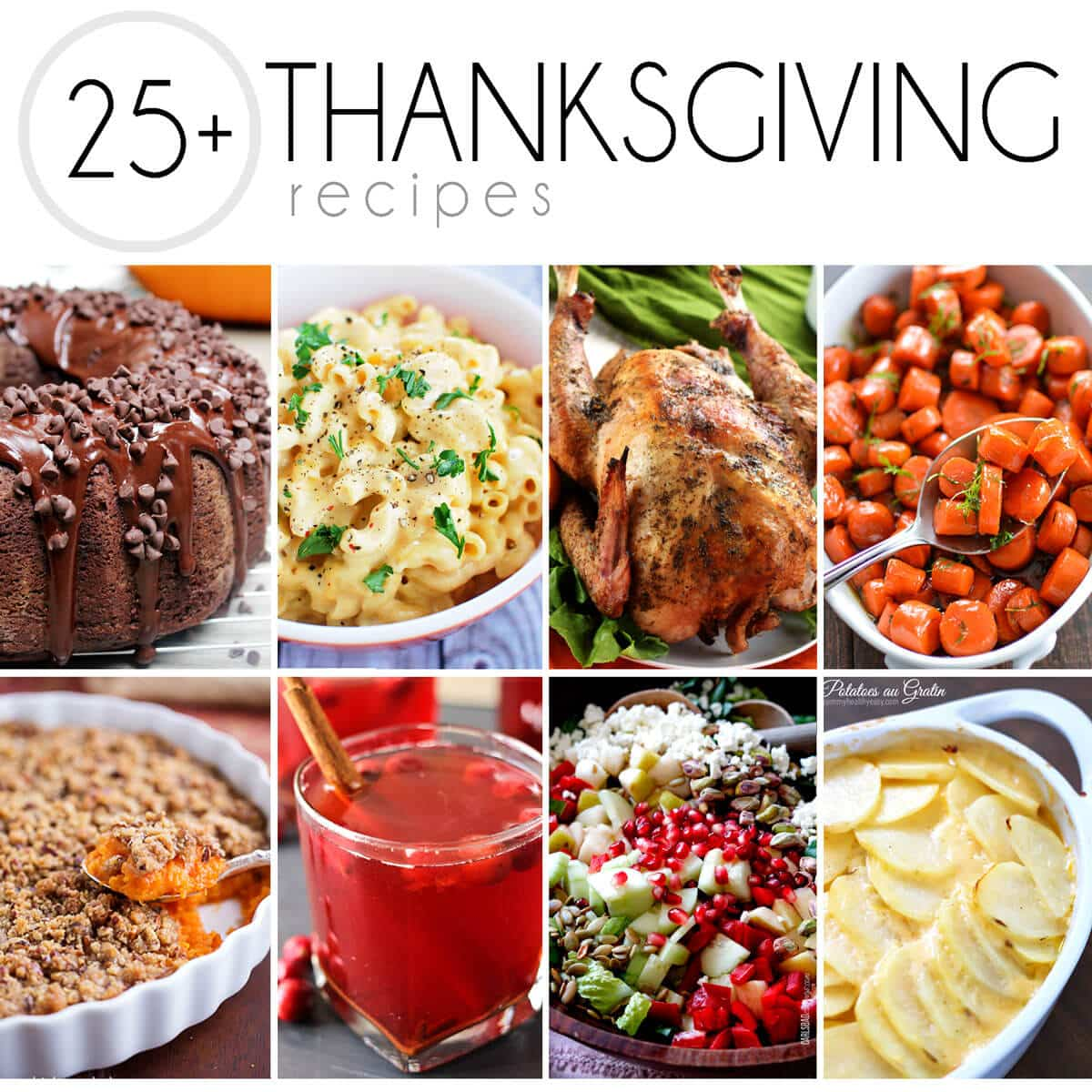 amazing collection of thanksgiving recipes from top food bloggers