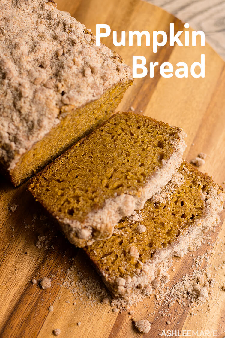 pumpkin bread recipe with streusel