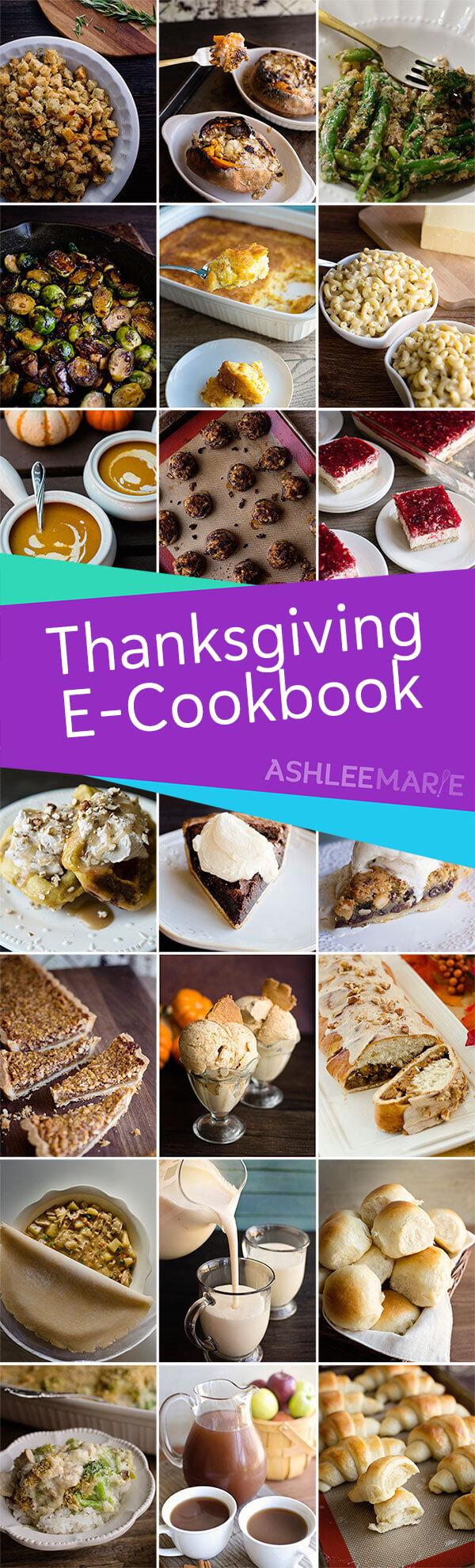 Thanksgiving recipe e cookbook