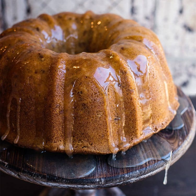 cheesecake swirl coconut bundt cake