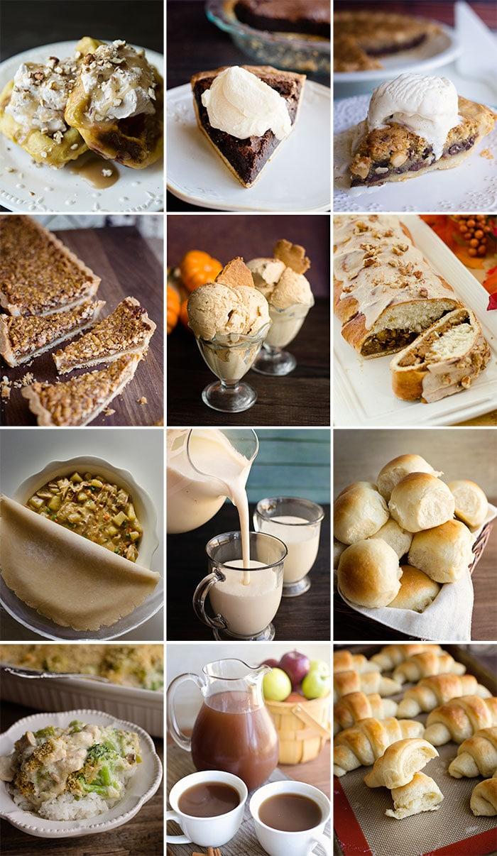 thanksgiving recipe ecookbook