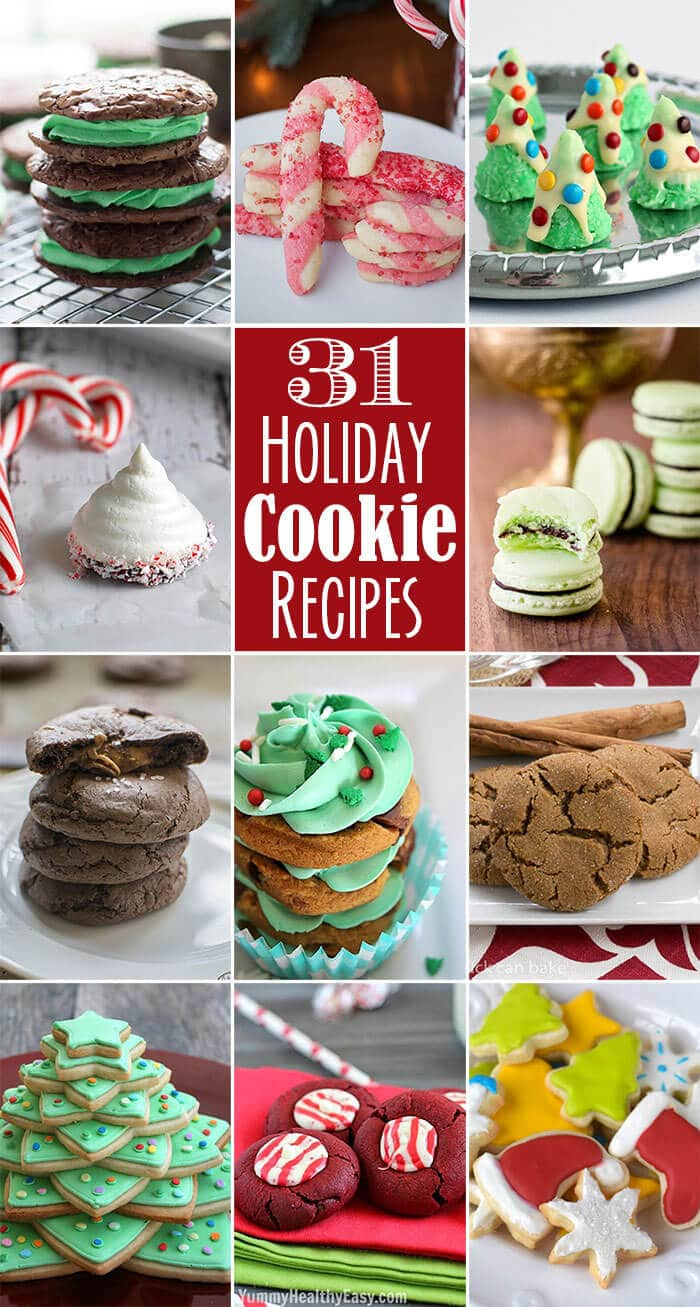 thirty one holiday cookie recipes