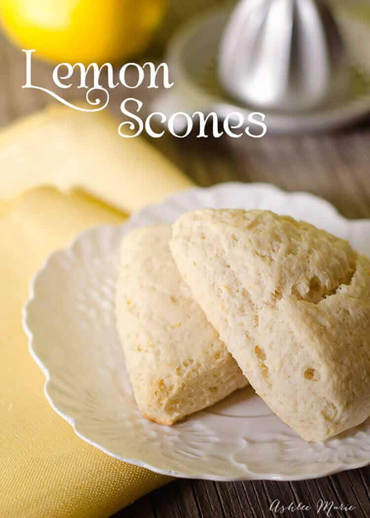 recipe: amazing lemon scones [12]