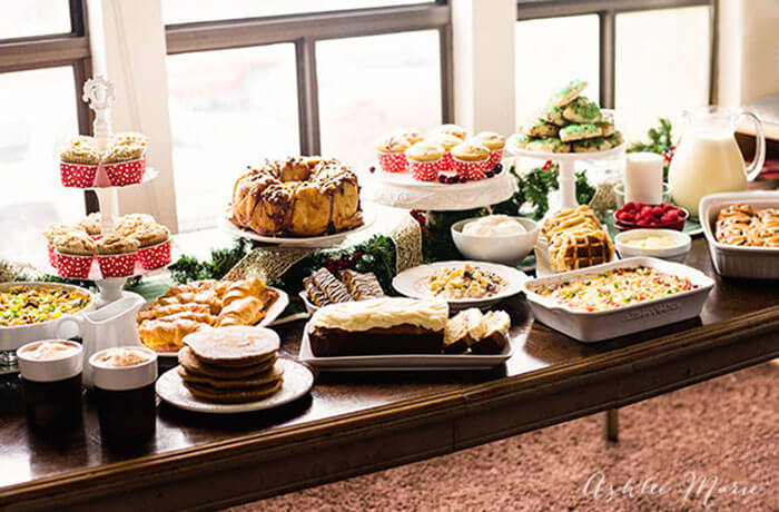 15 Christmas Breakfast and Holiday Brunch Recipes | Ashlee Marie