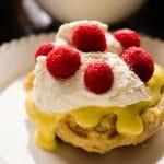 lemon curd and raspberry liege waffle recipe