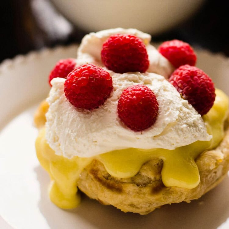 lemon curd and raspberry liege waffle recipe