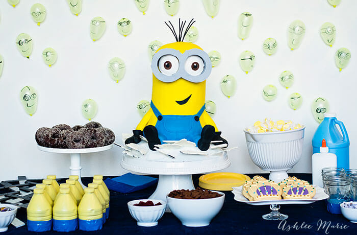 minions movie birthday party