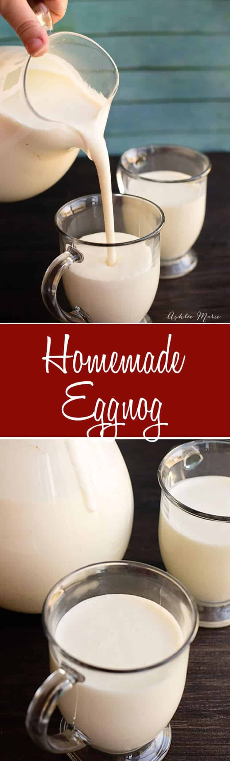 how to make homemade eggnog youtube