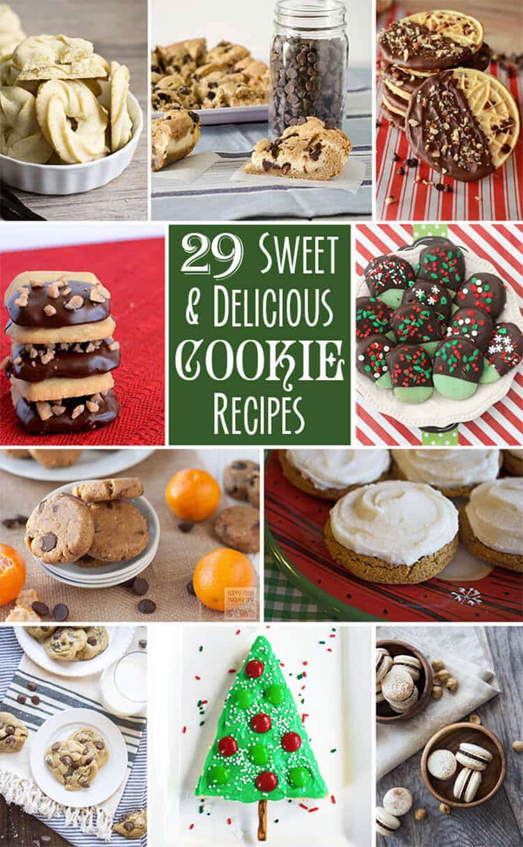 tasty and delicious cookie-recipe round up
