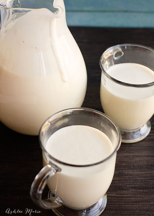 eggnog is a favorite at our house, and making it from scratch is easy to do with an amazingly delicious outcome