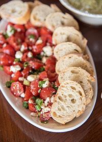 Greek Tomato and Feta Dip