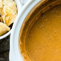 spicy beef queso dip