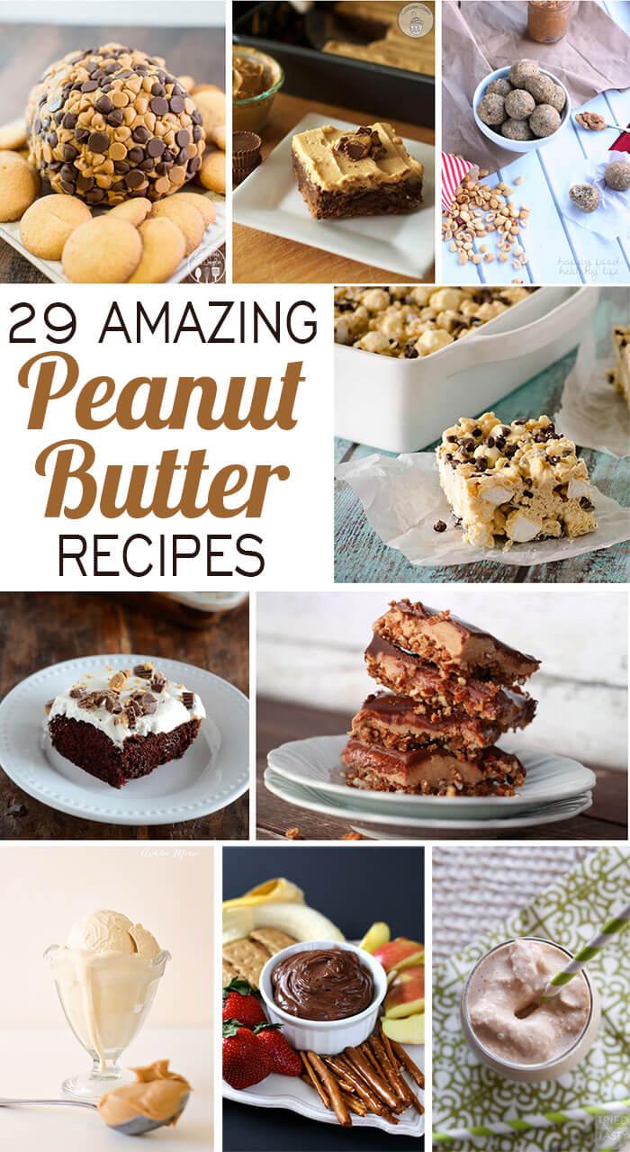 29 top peanut butter dessert recipes ashlee marie real fun with twenty nine amazing peanut butter recipes forumfinder Choice Image