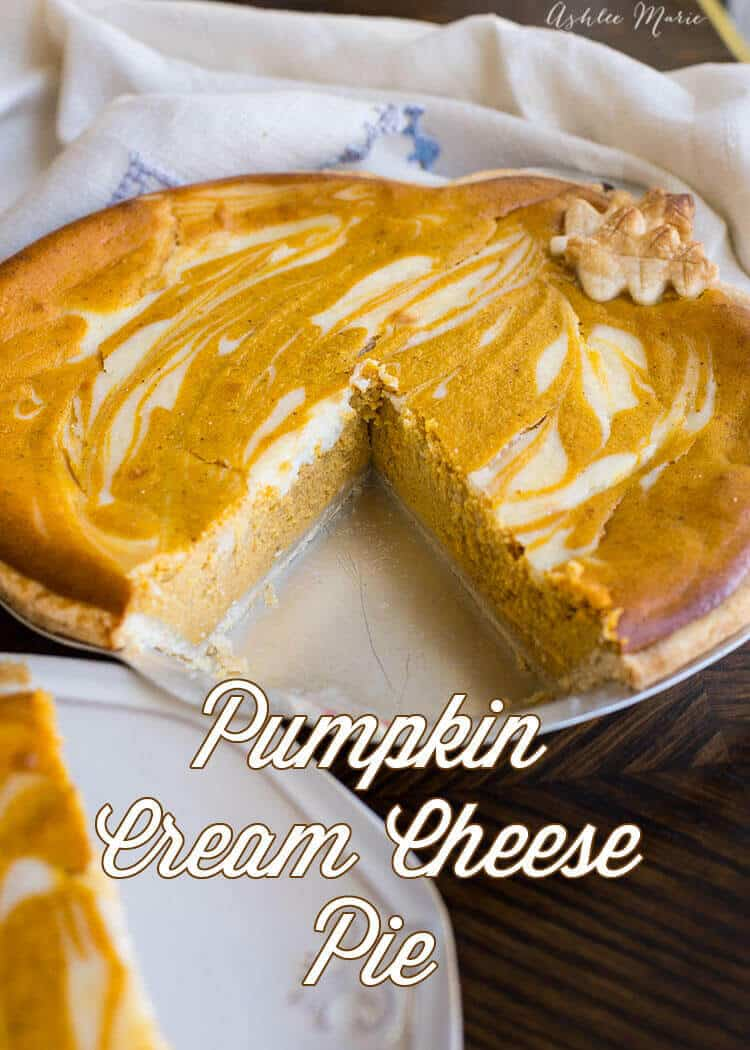 My favorite pumpkin pie - all the flavor of a classic pumpkin pie but with a creamy texture that makes it even better