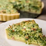 bacon, cheese and artichoke hearts bring out an amazing flavor to this spinach quiche recipe