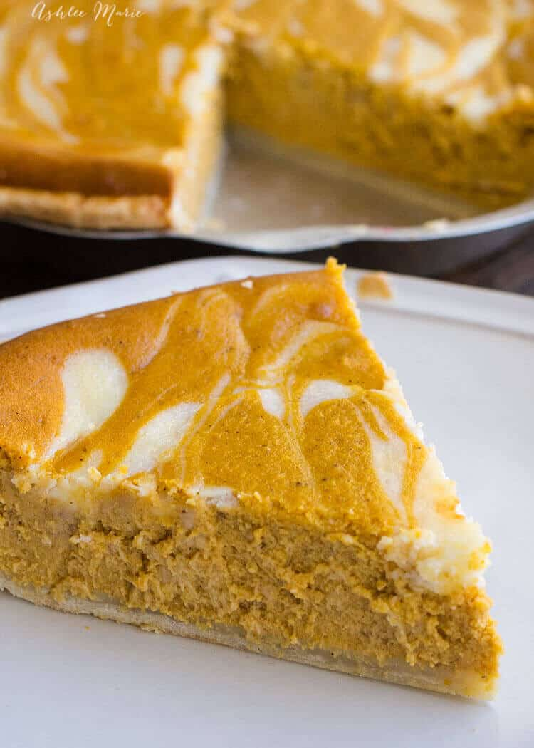 create an even better pumpkin pie with the addition of the cream cheese for an amazing texture and flavor