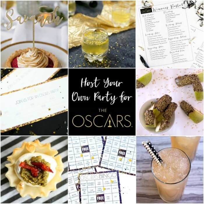 host an oscars party