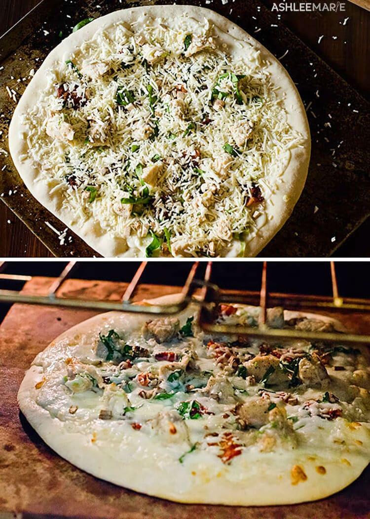 pizza stone baking