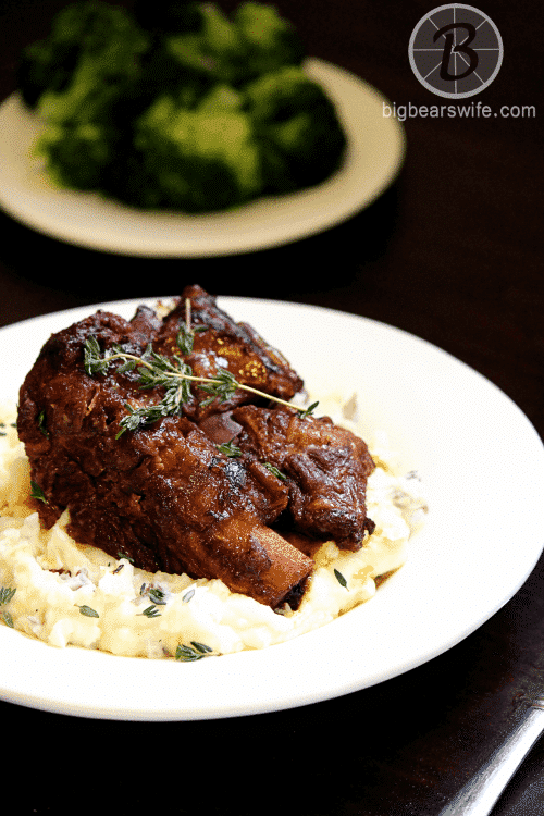 Slow Cooker Braised Short Ribs {Big Bears Wife}