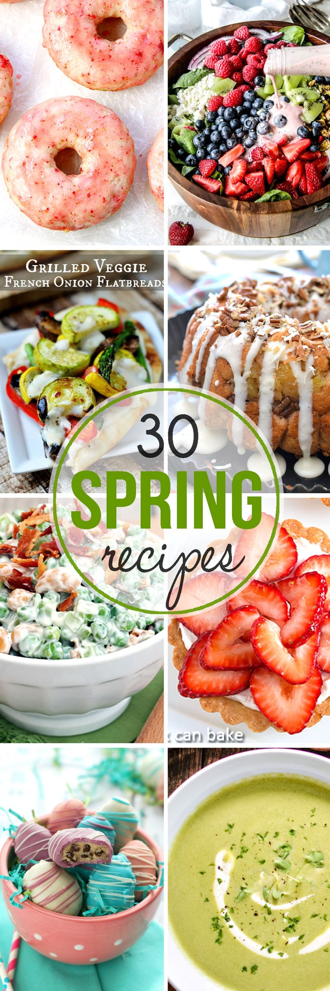 thirty fresh and vibrant recipes for spring from top food bloggers