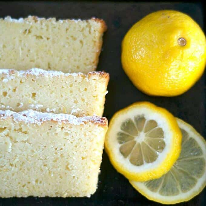 Lemon Ricotta Pound Cake
