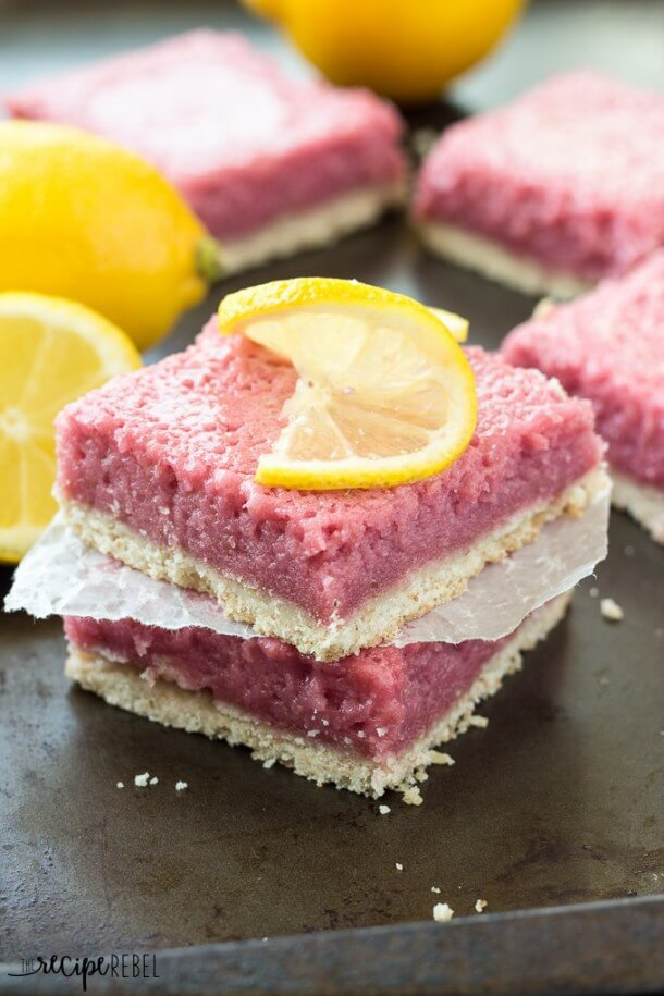 Strawberry Pineapple Lemonade Cheesecake Bars