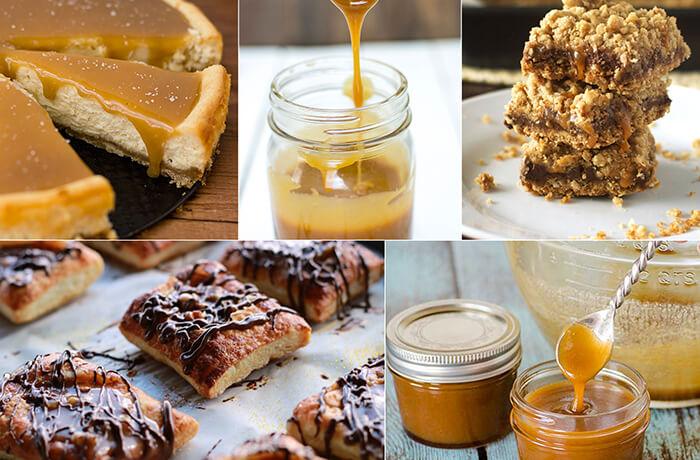 twenty nine ooey gooey and delicious caramel recipes