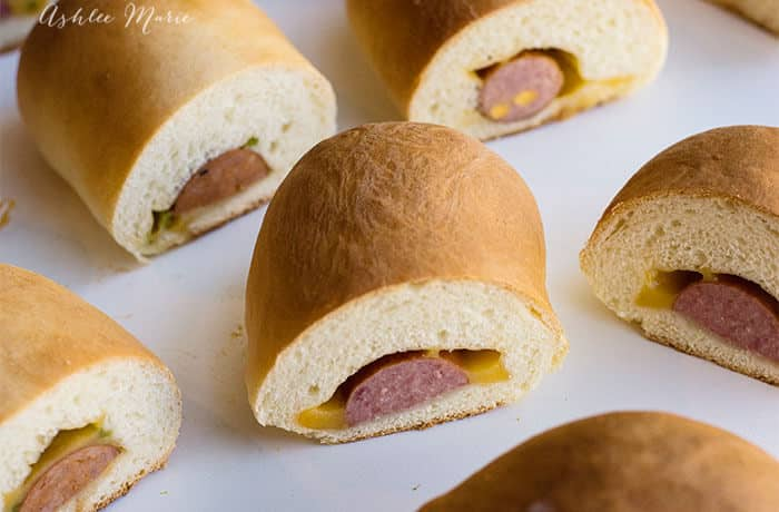 Cheese and sausage kolache | Ashlee Marie