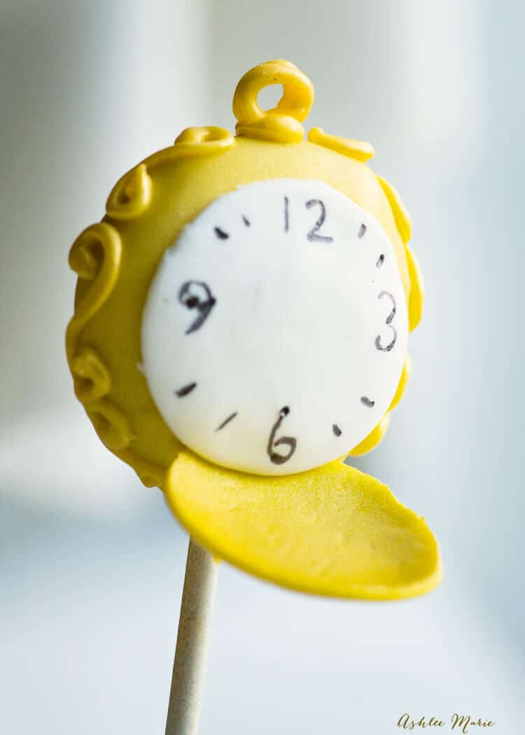 pocket watch cake pops