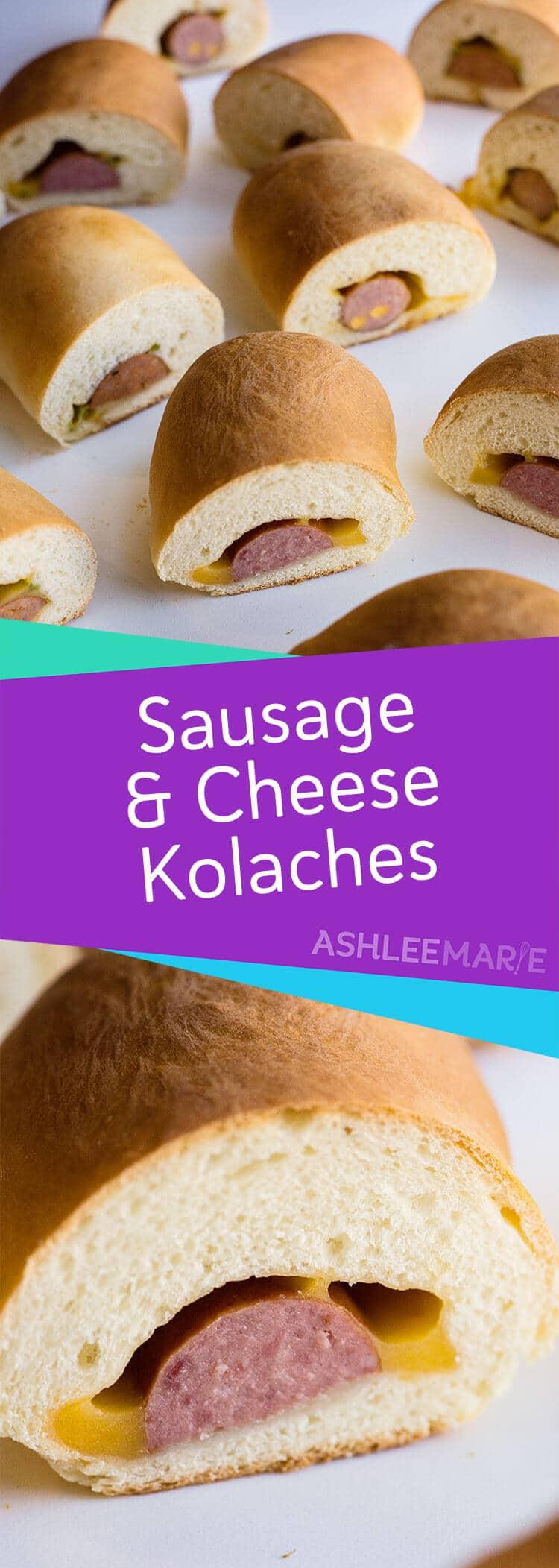 sausage and cheese kolache