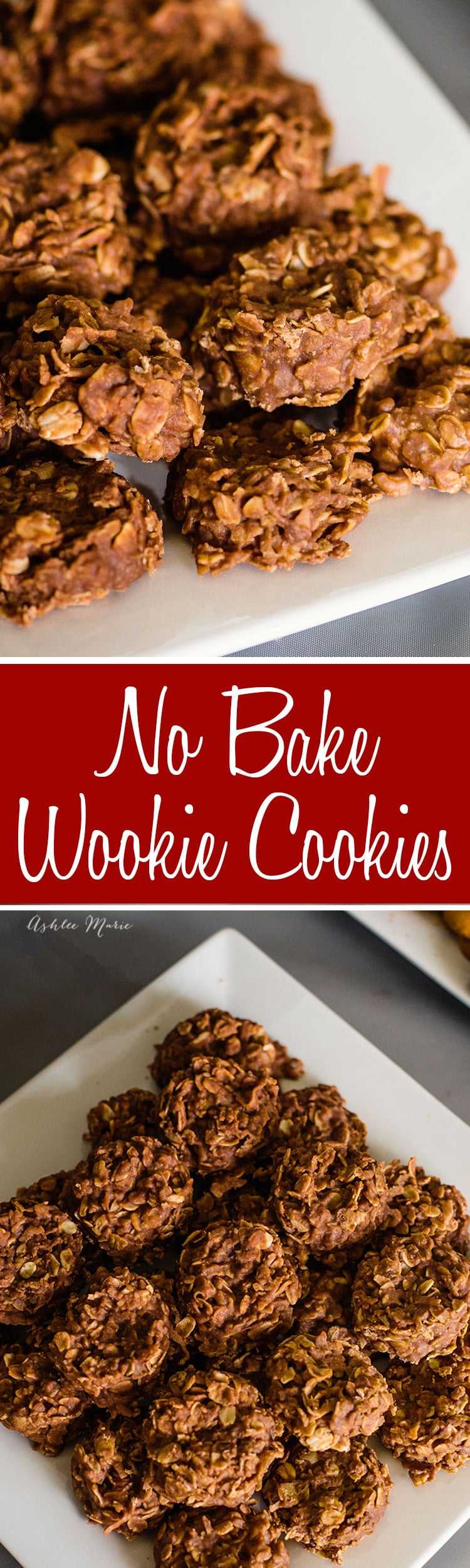 these chocolate peanut butter no bake cookies are perfect to represent wookies for your star wars party