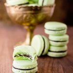 a delicious chocolate min macaron recipe