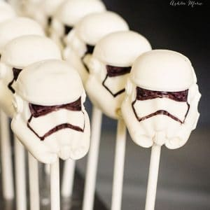 star wars storm trooper peanut butter cups