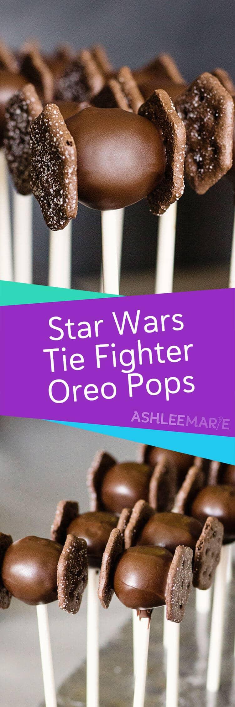 star wars tie fighter oreo pop
