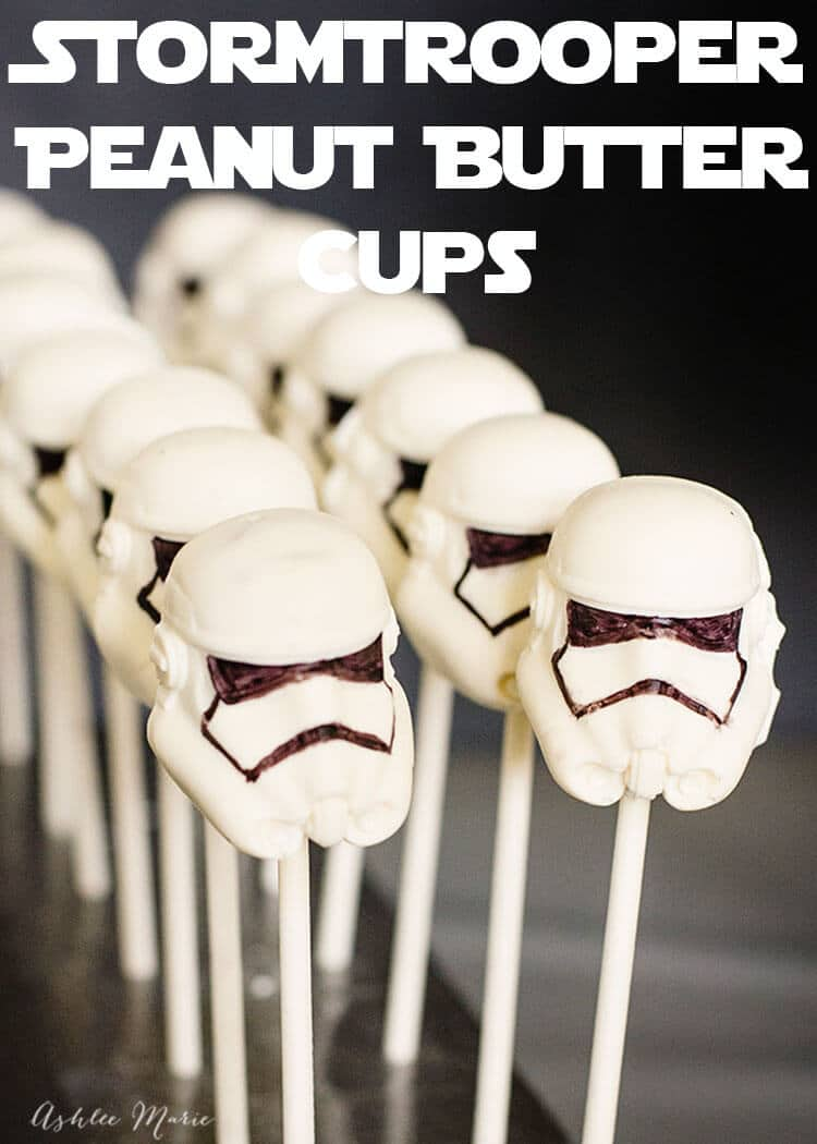 stormtrooper peanut butter cups recipe and video