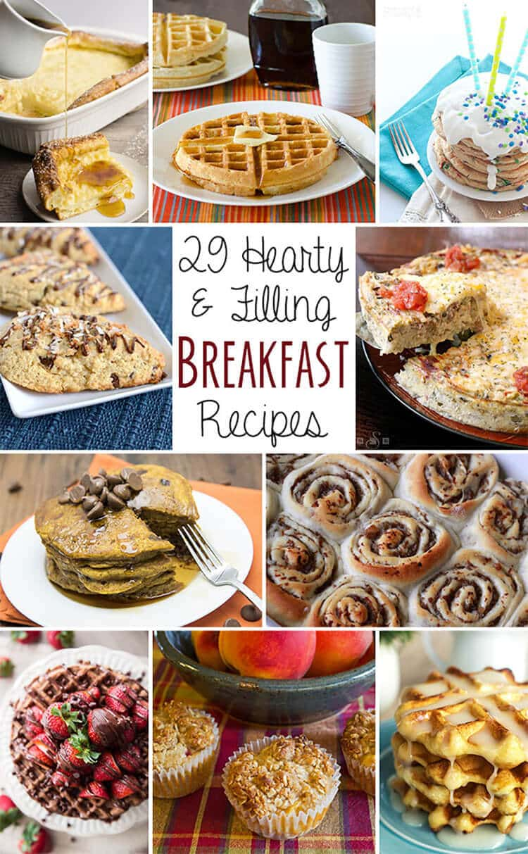 twenty-nine amazing breakfast recipes