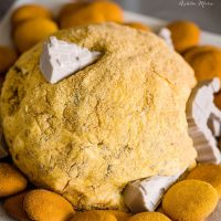 star wars jakku s'more cheeseball