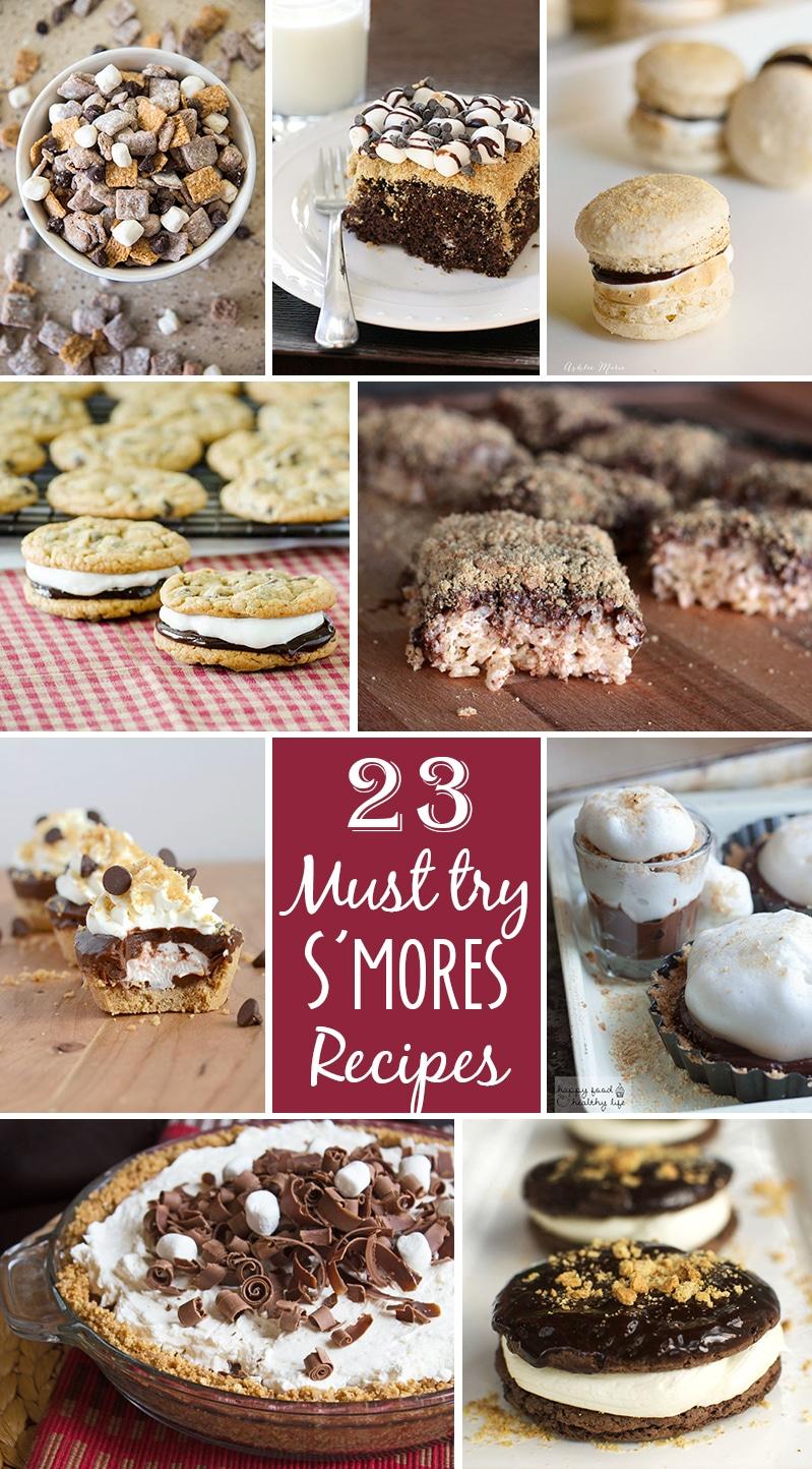 twenty three must try smore recipes