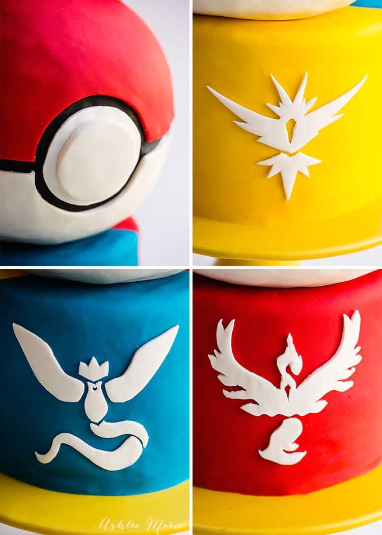 fondant pokemon cake