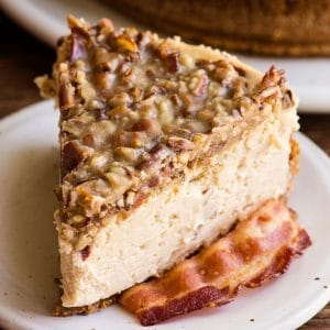 how to make cheesecake maple bacon cheesecake recipe