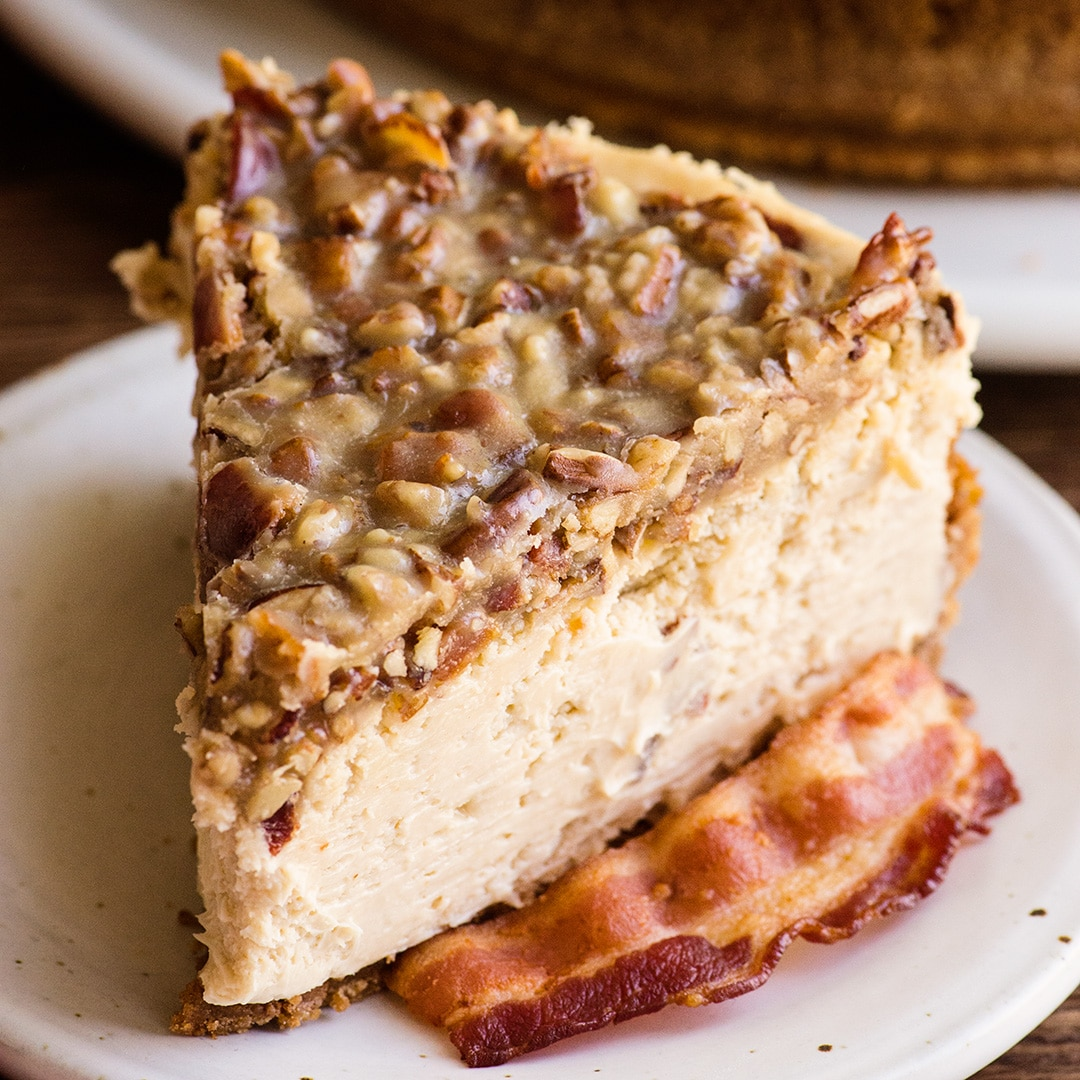 maple bacon cheesecake