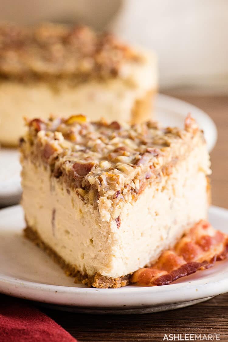 maple bacon cheesecake recipe