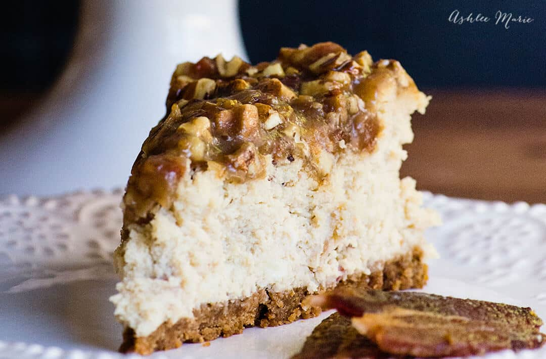 maple bacon cheesecake recipe