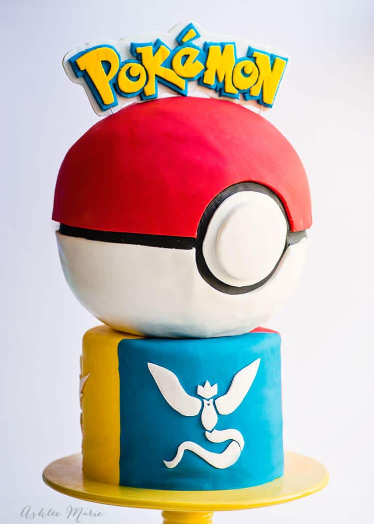 pokemon cake decorating tutorial