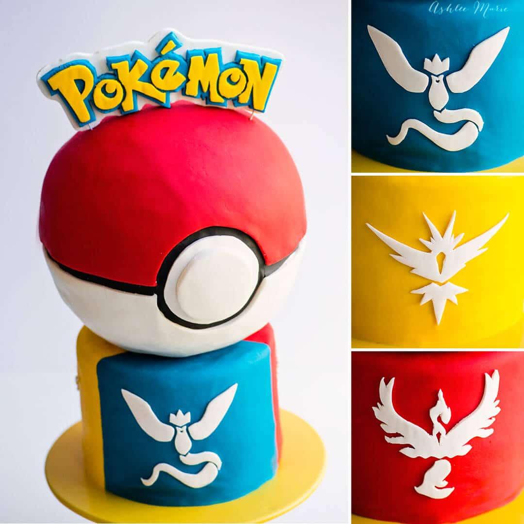 pokemon cake tutorial